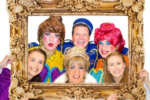 The pantomime at Eastbourne