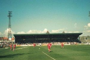 The Goldstone Ground, where Michael Robinson played from 1980 to 1983