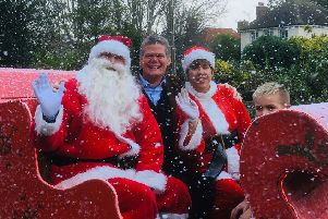 MP Stephen Lloyd's Christmas message SUS-181224-094520001