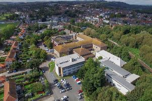 The Lewes campus of East Sussex College Group