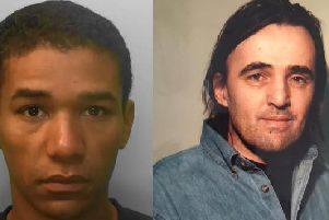 Sergio Lemori (left) was jailed for the murder of Andrew OConnell (right)