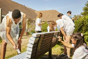 Young people taking part in the National Citizen Service (NCS) programme, SUS-180606-114702001
