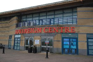 Sovereign Centre,  Eastbourne (Photo by Jon Rigby) SUS-161123-082448008