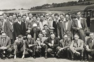 Do you recognise anyone from this John Williams & Company picture?