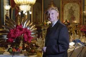 Milliner Stephen Jones OBE