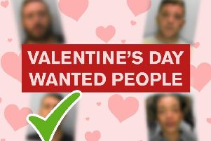 Ryan Skinner from Eastbourne has been arrested following a Valentine's Day appeal by Sussex Police