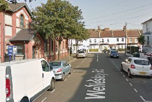 A man went into cardiac arrest in Wellesley Road in Eastbourne. Picture: Google Street View