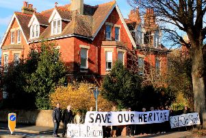 Campaigners opposed to the demolition of Kempston