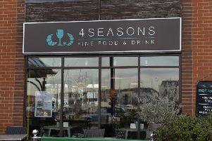 The 4 Seasons Restaurant in Sovereign Harbour, Eastbourne. Photo by Jon Rigby