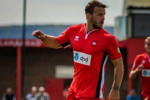Charlie Walker's goal was enough for Eastbourne Borough