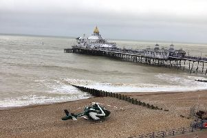 Eastbourne Pier death – two men to face charges