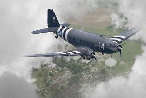 Historic World War II aircraft will be flying over Eastbourne on their way to Normandy to commerate D-Day 75 SUS-190422-114240001