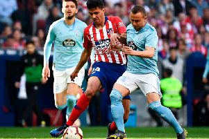 Atletico Madrid's Spanish midfielder Rodri (PIERRE-PHILIPPE MARCOU/AFP/Getty Images)