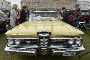 Magnificent Motors at Western Lawns, Eastbourne. May 2019  (Photo by Jon Rigby) SUS-190705-080319008