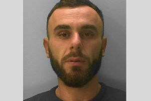 Erion Kabashi claimed his name was actually David Restino with the help of a fake Italian identity card. Picture: Sussex Police