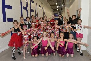 Children dancing in Beacon centre raising funds for Demelza (Photo by Jon Rigby) SUS-190513-114838008