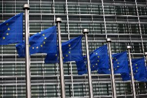 Home of the European Commission in Brussels (Photo by Carl Court/Getty Images) SUS-190513-170801003