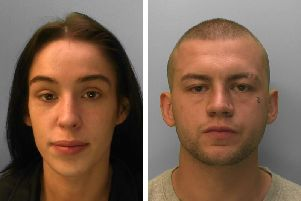 Brooke Brennan (left) and Jordan Kelly have a three-year-old son together. Picture: Sussex Police