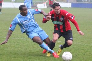 Nicky Wheeler, pictured playing for Lewes, has signed on for Borough