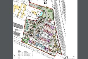 Layout plan for 78 new homes in Pagham