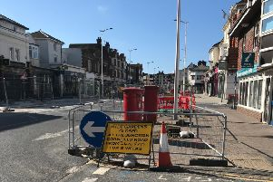 Hyde Gardens in Eastbourne is closed for five weeks
