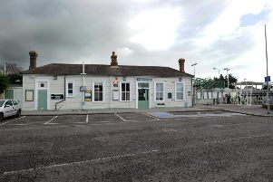 Hampden Park Train Station, Eastbourne  (Photo by Jon Rigby) SUS-171201-002012008