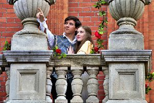 Lester Seale (Romeo) and Emily Wood (Juliet)