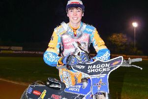 Eastbourne Eagles' new boy Jason Edwards. Picture by Ian Groves/Sportography