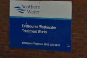 Southern Water's Eastbourne wastewater treatment works. Picture: Google SUS-190728-120656001