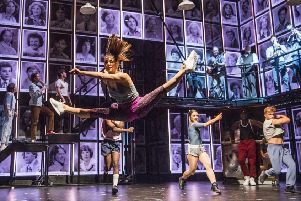 Fame The Musical. Pitcure by Tristram Kenton