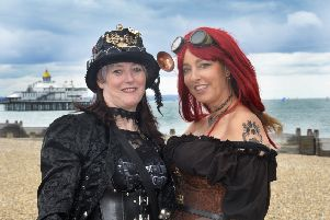 Steampunk Festival in Eastbourne 8th September 2018 (Photo by Jon Rigby) SUS-181009-101753008