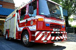 A fire engine