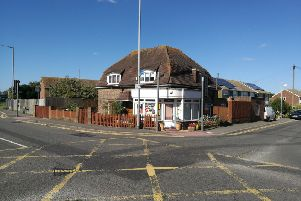 This house on Coast Road in Pevensey Bay could be turned into a florist shop