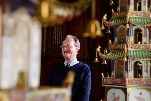 Keeper of the Royal Pavilion David Beevers. Photograph: Jim Holden