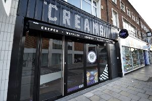 Creams shop in Terminus Road, Eastbourne (Photo by Jon Rigby) SUS-190909-160238008