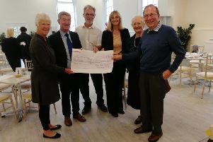 Jill Parker from JPK, Dr Ian McNaughton, Dr David Hanratty, administrator Sharon McDavitt and Elizabeth Broome and David Tarbuck, trustee/members of The Dr Merry Memorial Fund SUS-190710-120537001