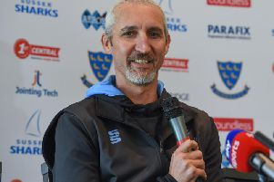 Jason Gillespie is delighted to extend his Sussex stay / Picture by PW Sporting Photography