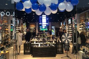 Skechers has opened in The Beacon shopping centre in Eastbourne today