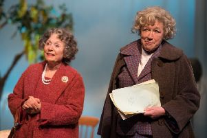 Lin Blakley and Sarah Parks. Picture by Craig Sugden