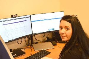 Eleanor Brewer, service manager oversees the virtual outpatients system