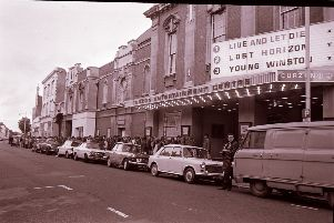 People queued to see James Bond's Live and Let Die at the Curzon SUS-191031-124539001