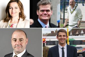 The candidates hoping to be Eastbourne's new MP