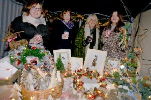 Little Christmas In Little Chelsea 2017 and the Neon Noel switch-on ceremony. SUS-170212-093829001