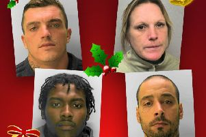 Sussex Police has released a 'naughty list'