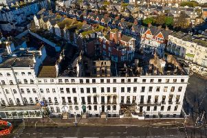 The Claremont Hotel was ravaged by a major fire on November 22 and could now be demolished