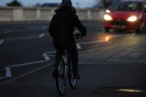 Cyclists riding without lights ENGEMN00120121030173401
