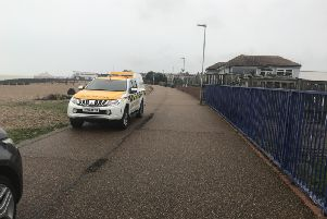 Coastguard on scene