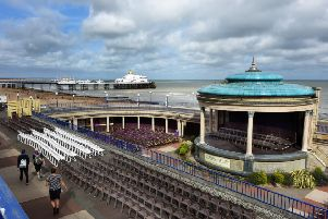 Eastbourne's Iconic Bandstand is in need of serious maintenance (Photo by Jon Rigby) SUS-190108-111817008