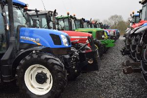 Lisnamurrican YFC truck and tractor run