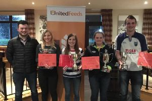 Co Antrim first places: Lauren McNeill Kilraughts YFC placed first in PRO